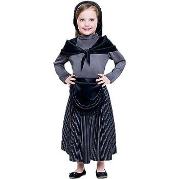 Disfraz de castañera infantil 3-4 años: Amazon.es: Juguetes y juegos