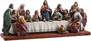 CB Avalon Gallery 16-Inch Last Supper Figurine Statue