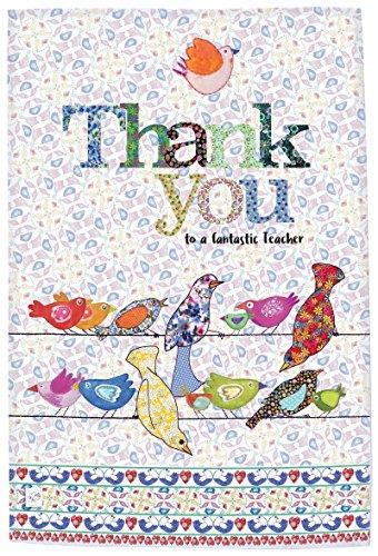 MollyMac Torchon Thank You Teacher », Mignon, décoration de la Maison, torchon. Merci à Un Professeur spécial.
