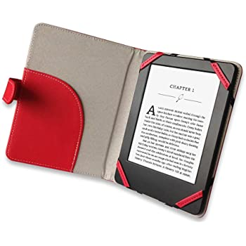 ANVAL Funda para EBOOK Sony PRS T2 Color Rojo: Amazon.es: Electrónica