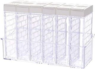 Boîte D'Assaisonnement Pp Boîte De Pots De Poivre De Sel Pour La Boîte De Rangement D'Organisateur De Stockage D'Épices De...