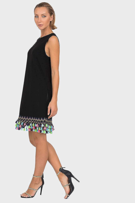 Joseph Ribkoff Black Tunic Dress Style 192062