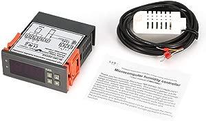 Zinniaya MTC1000A Digital Humidity Controller Hygrometer Dehumidify Switch Relay