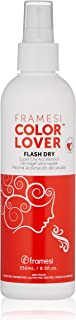Framesi Color Lover Flash Dry Spray - 8.5 Ounce, Color Safe Blow Dry Spray, Super Dry Accelerator and Heat Protection Spray For Hair, Vegan, Gluten Free, Cruelty Free