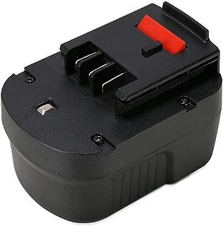 POWERAXIS 12V 2.0Ah NICD HPB12 Replacement Battery for Black & Decker HPB12 FS120B FSB12 FS120BX A12 A12-XJ A12EX A1712
