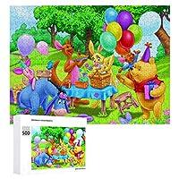 Winnie The Pooh ジグソーパズル 1000ピース 絵画 学生 子供 大人 向け 木製パズル TOYS AND GAMES おもちゃ 幼児 アニメ 漫画 プレゼント 壁飾り 無毒無害 ギフト