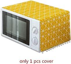 HHYK BAKINGCHEF Inicio del Horno microondas Cubiertas a Prueba de Polvo fácil de Limpiar Organizador Gadgets de Cocina Mayor Accesorios Suministros Caso (Color : Yellow)