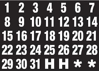 Magna Visual Magnetic Calendar Dates Indicators