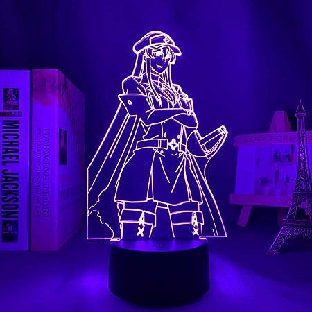 Lamp Anime Akame Ga Kill LED Night Light for Home Room Decor Nightlight Birthday Gift Akame Ga Kill Night Lamp Akame