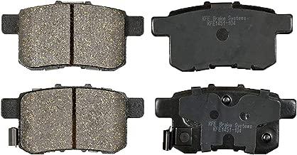 KFE Ultra Quiet Advanced KFE1451-104 Premium Ceramic REAR Brake Pad Set