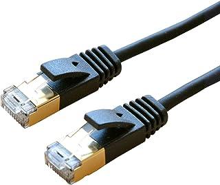 ミヨシ MCO カテゴリー8 スリムLANケーブル ブラック 5m TWM-805BK
