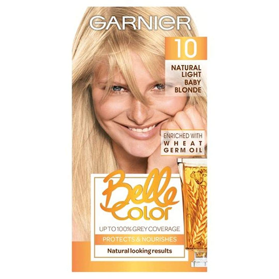 酸度考案するロゴ[Belle Color ] ガーン/ベル/Clr 10自然光の赤ちゃんブロンドパーマネントヘアダイ - Garn/Bel/Clr 10 Natural Light Baby Blonde Permanent Hair Dye [並行輸入品]