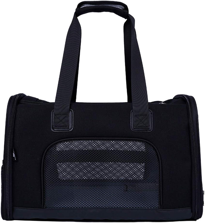 Carrier for Pet Dog Cat, Lightweight Comfortable Breathable Durable Premium Car Carrier Bag Fashion Pet Supplies