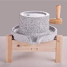 Stone Grinder, met houten frame wit graniet 2030 Soja Stone Mill - Stone Grinder