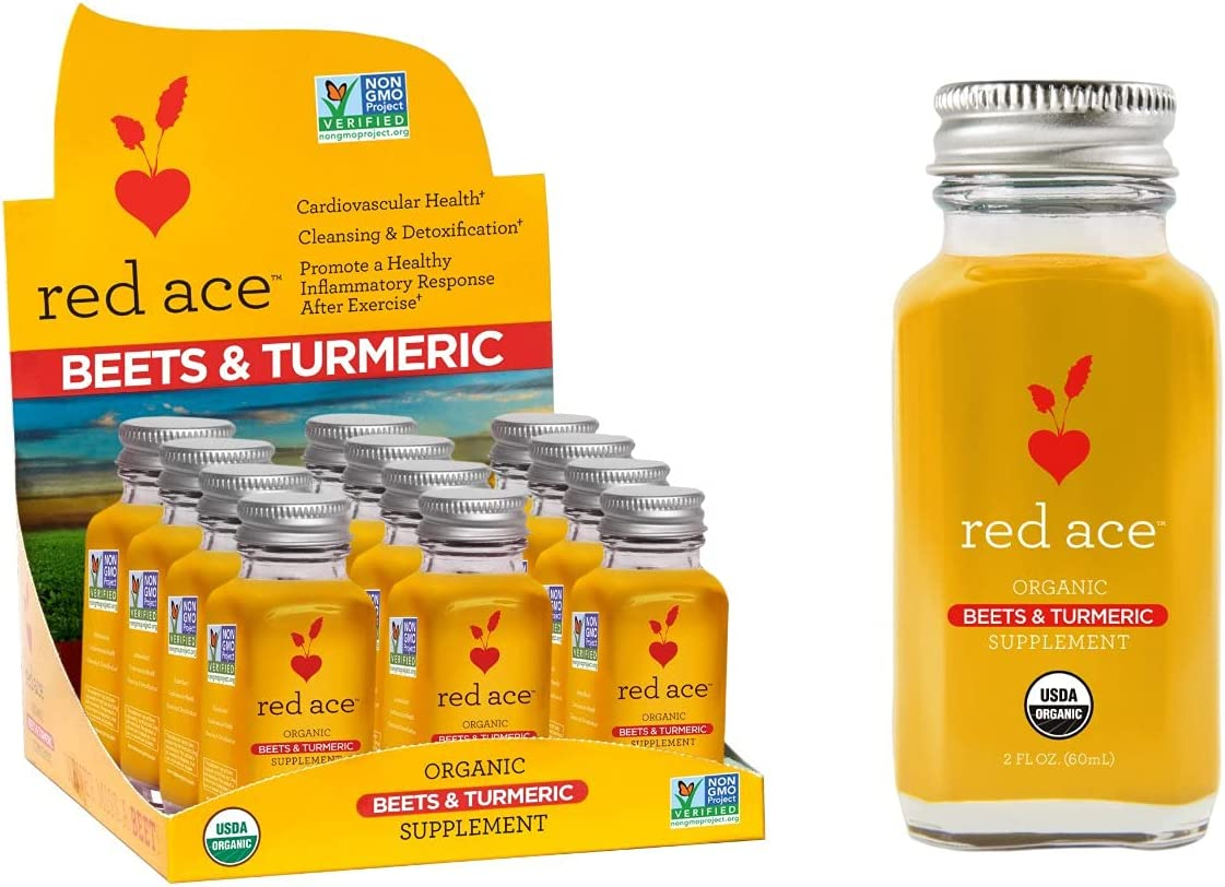 Red Ace-100% Mail Super special price order Certified Organic Beet Juice Turmeric Supplement