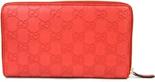 096cf085d6bd5a Gucci Women's Guccissima Leather Wallet Zip Around Travel Clutch 321117