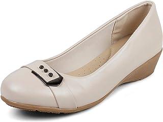 tresmode Women Synthetic Leather Ballerina
