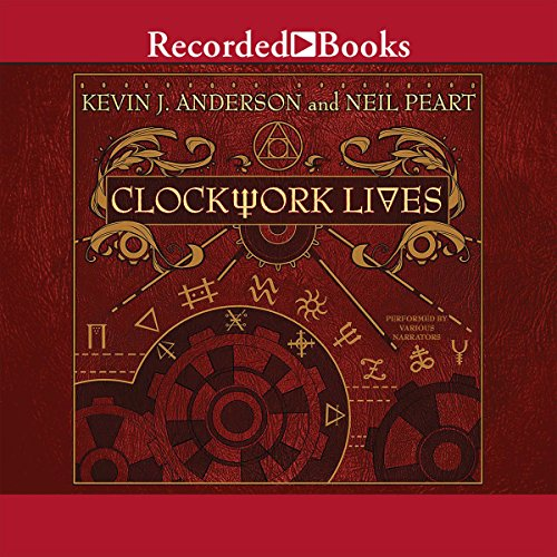 Clockwork Lives audiobook cover art