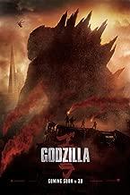 Godzilla (2014): Movie Poster (Thick Poster) Original Size 24x36 Inch - Aaron Taylor-johnson, Elizabeth Olsen, Bryan Cranston