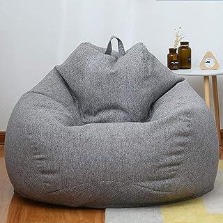 LF Puf Asiento Puff Pera Beanbag,Peluche Animal Almacenamiento Ultra Soft Bean Bag con Cremallera 90 * 120cm,H-100 * 120cm