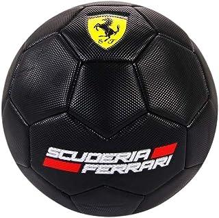 كرة قدم سوداء اللون من سواغسبين مرخصة من فيراري لكرة القدم حجم 5 نادي رياضي