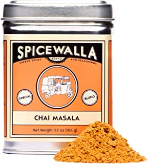 Spicewalla Masala Chai Spice 3.7 oz | Tea, Latte, Coffee, | Powdered Spice Unsweetened