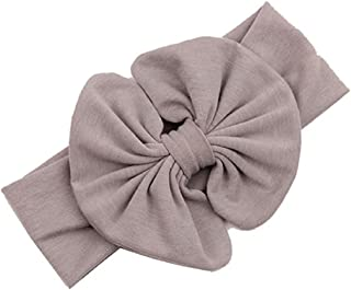DZT1968(TM) Baby Girl Newest Bowknot Turban Headband Head Wrap Knotted Hair Band