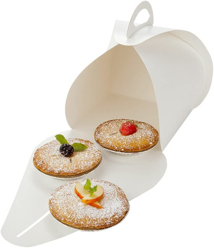 Ingenero Omaha Ultra-Cheap Deals Mall 6.5 Inch Cake Boxes With 100 L Handles Built-In Handle