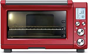Breville BOV845CRNUSC Smart Pro Countertop Convection Oven, normal, Cranberry Red (Renewed)
