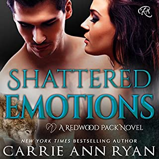 Shattered Emotions     Redwood Pack, Book 5              By:                                                                                                                                 Carrie Ann Ryan                               Narrated by:                                                                                                                                 Gregory Salinas                      Length: 6 hrs and 29 mins     120 ratings     Overall 4.6