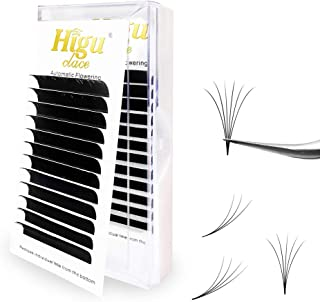 Rapid Volume Eyelash Extension 0.07 D Curl 8-15mm Mixed Easy Fan Rapid Blooming Lashes 3D 4D 5D 6D 10D 20D