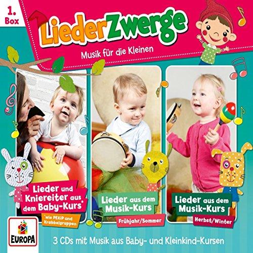 01/3er Box Liederzwerge (Pekip,Musik-Kurs Vol.1 & Vol. 2)