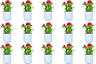 Rochfern Grow Bags (Pack of 15) Small Size-30x16x16cm, UV Treated Portable. 100% Virgin Polyethylene Grow Bag Perfect for Terrace, Balcony, Kitchen Vegetables Garden, Flats