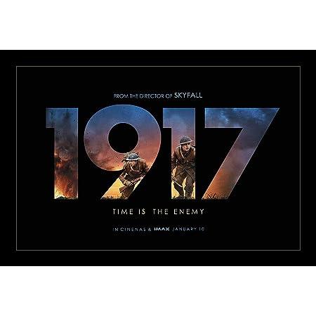 1917 Movie Sam Mendes Art Silk Canvas Film Poster Print 24x36 inch Home Decor