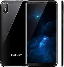 Hafury A7 (2019) Android 9.0 Smartphone Libre con 5.5 Pulgadas (18:9) Pantalla táctil, Dual SIM Dual Standby, 2GB RAM+16GB Almacenamiento, 8MP cámara trasera/5MP cámara Frontal (Negro)