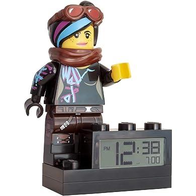 LEGO Despertador Infantil con Figurita de Batman de BATMAN