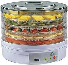 L.TSA Déshydrateur d'aliments Déshydrateur Déshydrateur Déshydrateur d'aliments - Séchoir à Fruits Automatique avec 5 Couc...