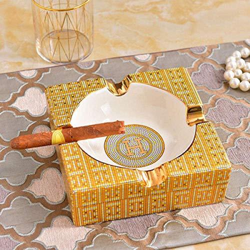 HYY-YY Decorations Art Craft Mozaïek asbak keramische woonkamer salontafel home decoratie kantoor studie