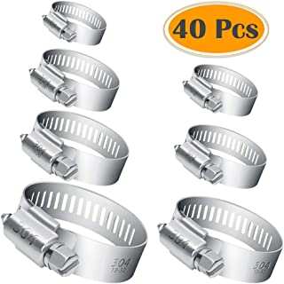 Choose Size Stainless Steel Hose Clips Pipe Clamps Jubilee Jcs Type W4