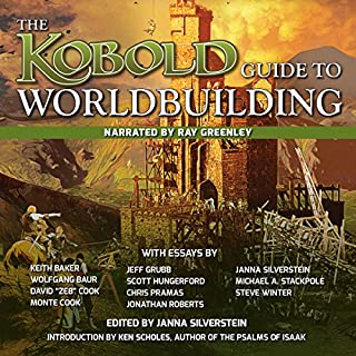 Kobold Guide to Worldbuilding audiobook cover art