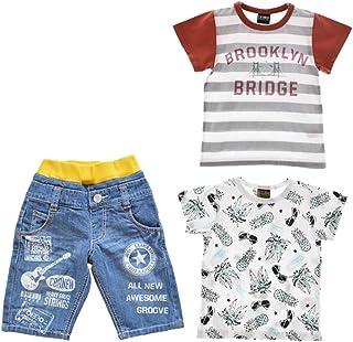 L.COPECK エルコペック ラッキーパック 福袋 ハーフパンツ 半袖Tシャツ 3点セット 男の子 キッズ ジュニア 子供服