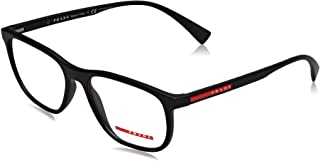 LIFESTYLE PS05LV Eyeglass Frames DG01O1-55 - Black Rubber...