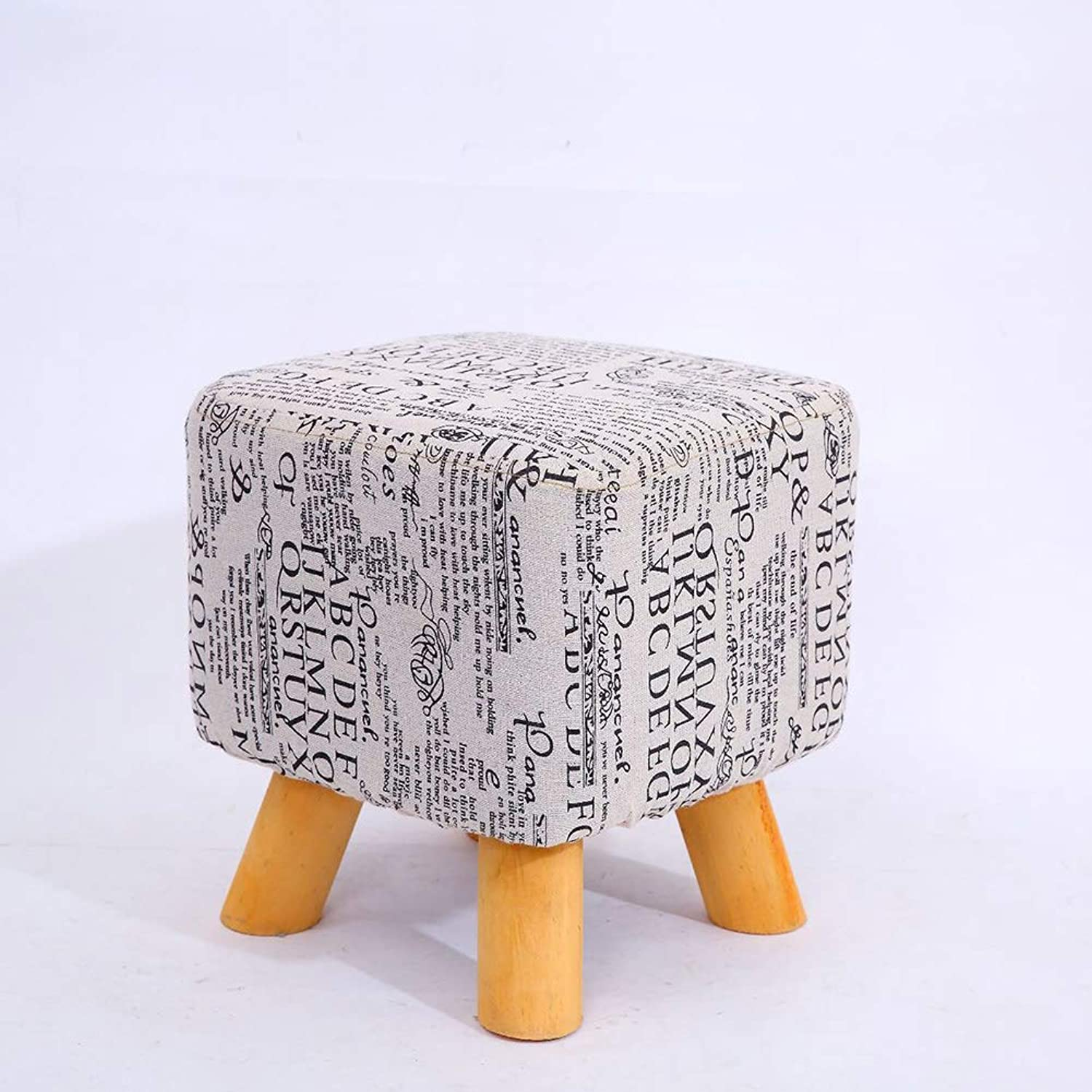 Small Stools, Solid Wood Home Fashion, shoes Benches, Square Stools, Adult Sofa Stools, Low Stools, Creative Benches