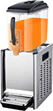 CLING Machine à Boissons 12L Distributeur de jus Commercial Machine réfrigération et Chauffage Grande capacité Machine à t...