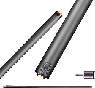 KONLLEN Pool Cue Shaft Carbon Fiber Technology Billiard Cue Stick Shaft (Low Deflection, 12.9mm Tip, Professional Taper, 29'' Length, Uni-loc QR Joint Pin)