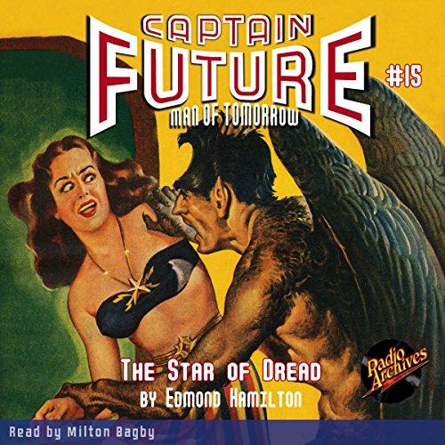 Captain Future #15 audiobook cover art