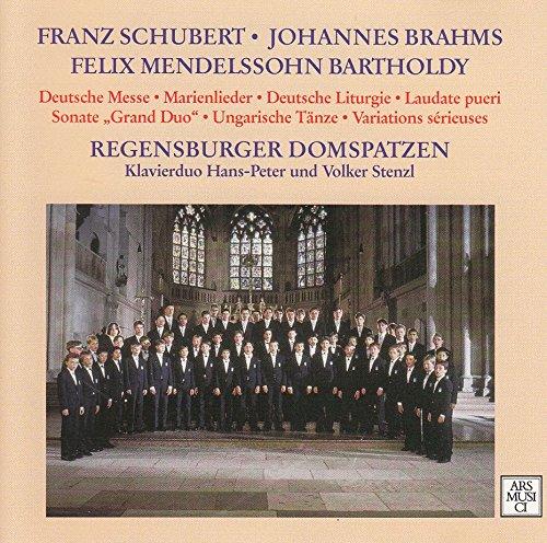 Deutsche Messe, Marienlieder, Deutsche Liturgie, Ungarische Tänze [Doppel-CD]