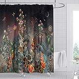 lxianghao Polyester Stoff Duschen Vorhänge...
