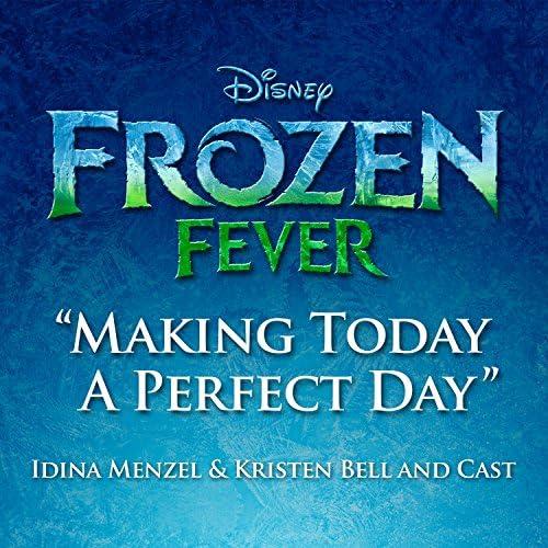 Idina Menzel, Kristen Bell & Cast of Frozen Fever