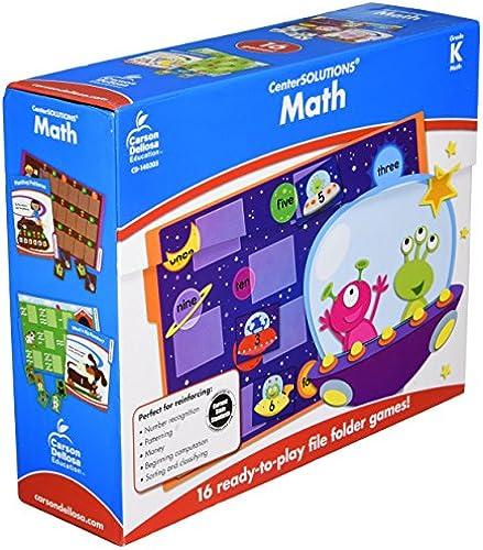 CenterSOLUTIONS Math File Folder Games, Kindergarten, Sold as 1 Each